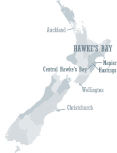 Hawke's Bay's beliggenhet
