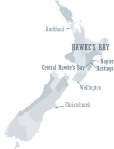 Hawke's Bay's beliggenhet